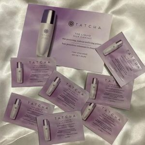 Tatcha the liquid silk canvas primer samples